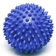 """Мяч массажный """"Larsen"""", цвет: синий, 7 см. SM-2"""