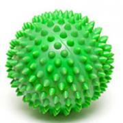 """Мяч массажный """"Larsen"""", цвет: зеленый, 7 см. SM-3"""