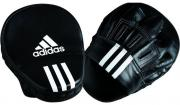 "Лапы Adidas ""Focus Mitt Leather"", цвет: черный, 10"""