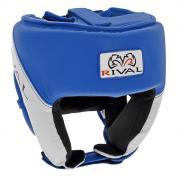 """Шлем боксерский """"Rival"""", тренировочный, цвет: синий. Размер М"""