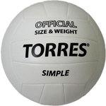 Мяч волейбольный любительский Torres Simple арт. V30105, размер 5,...