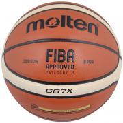"""Мяч баскетбольный """"Molten"""", цвет: кирпичный, черный, бежевый. Размер..."""