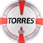 Мяч футзальный Torres Futsal Match, (арт. F30064), размер 4, цвет:...