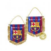 """Вымпел """"FC Barcelona"""". 11 см х 9 см. 158351"""