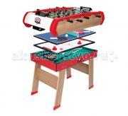 Smoby Игровой стол Power Play 4 в 1