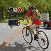 Беспроводной фонарь поворотники для велосипеда и электровелосипеда...