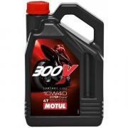 Моторное масло Motul 300V 4T Factory Line 10W40 4л (104121)