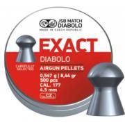 Пули пневматические EXACT Diabolo 4,5 мм 0,547 грамма (500 шт.)...