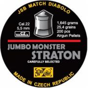 Пули пневматические JSB Straton Jumbo Monster Diabolo 5,5 мм 1.645 гр...