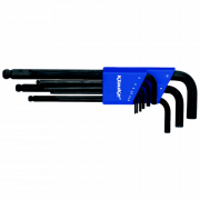 KL375 Набор изогнутых шестигранных ключей SW 1,5- 10 (9 шт) KLAUKE