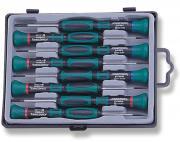 Набор отверток для точной механики Jonnesway 50 мм шлиц 1.0-3.0 и...