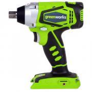 Аккумуляторный ударный гайковерт GreenWorks G24IW