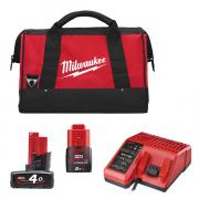 Зарядный набор M12 Milwaukee 4932451239