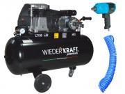 Набор пневмоинструмента Wiederkraft Wdk-premium