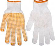 Перчатки ХБ Topex 83s302