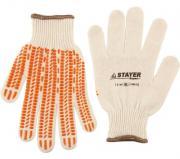 """Перчатки STAYER """"EXPERT"""" трикотажные с защитой от скольжения, 10..."""