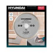 Hyundai диск алмазный сплошной, 125 х 22,2 мм (206107)