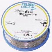 FLD-230200 Припой Felder Sn63Pb37 ISO-Core ELR:1% 1mm 250г