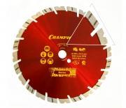 Диск алмазный CHAMPION универсальный ST 230/22,23/12 Fast Gripper