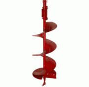 Шнек для мотобура DDE для грунта (двухзаходный, ф = 300 мм, L = 800...