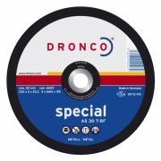 1181055 DRONCO AS 30 T отрезной круг по металлу 180x2x22,23