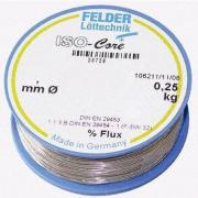FLD-230208 Припой Felder Sn60Pb40 ISO-Core RA-05:2,5% 1mm 250г