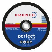 1120015 DRONCO A 24 R диск отрезной по металлу 125x3x22,23