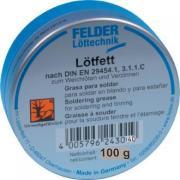 160096 Жир паяльный 100 g Lotfett Felder