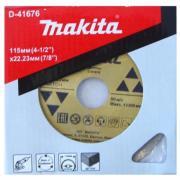 Диск отрезной Makita D-41676