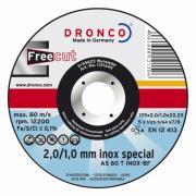 1121340 DRONCO AS 60T INOX Free Cut отрезной круг по металлу...
