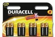 Батарейка AAA MN2400 K8 8шт Duracell 81422470
