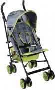 Melogo Детская коляска с ремнем для переноски цвет серый зеленый