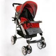 Коляска Everflo PP-10 luxe red/красный