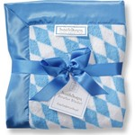 Детский плед SwaddleDesigns Stroller Blanket Bavarian Rhombus...