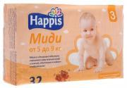 Happis Подгузники Миди 5-9 кг 32 шт