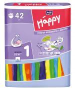 Подгузники для детей bella baby Happy размер Newborn, 42 шт