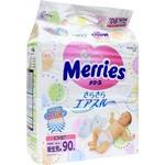 Подгузники Merries N/B до 5кг 90шт 4901301230782