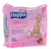 Happis Подгузники Макси 10-20 кг 16 шт