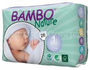 Bambo Nature Подгузники Newborn (2-4 кг) 28 шт.