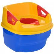 """Горшок детский """"Loztoys"""" 3 в 1, цвет: синий, желтый, красный"""