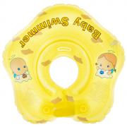 "Круг на шею ""Baby Swimmer"", цвет: желтый, 3-12 кг. BS21Y"