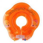 """Круг на шею """"Baby Swimmer"""", цвет: оранжевый, 3-12 кг"""