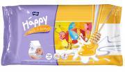 "Bella Влажные салфетки Baby Happy ""Молоко и мед"", 64 шт"