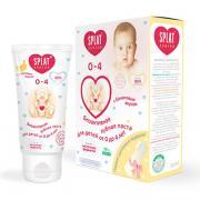 Зубная паста для детей от 0 до 4 лет со вкусом банана splat