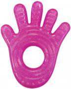 Munchkin Прорезыватель охлаждающий Ладошка цвет розовый