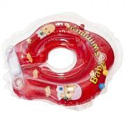 """Круг на шею """"Baby Swimmer"""", с погремушкой, цвет: красный, 3-12кг"""