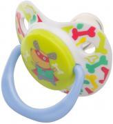 Happy Baby Соска-пустышка силиконовая ортодонтической формы с...