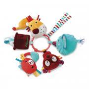 Lilliputiens Кольцо-погремушка Цирк Шапито с мягкими игрушками