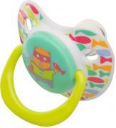 Happy Baby Соска-пустышка силиконовая с колпачком 13008
