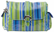 Cymka Kalencom Buckle Bag Jazz Stripes Cobalt